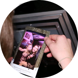 Mirrored photo booth rental in Brighton, Sussex