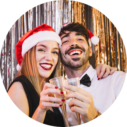 Hire a photo booth for your christmas party