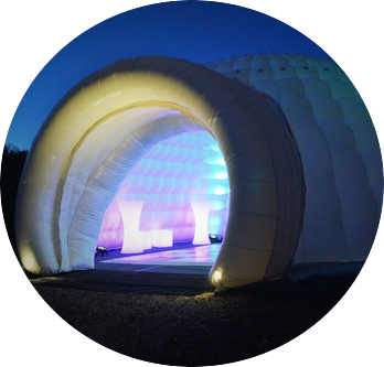 Inflatable Igloo Photo Booth