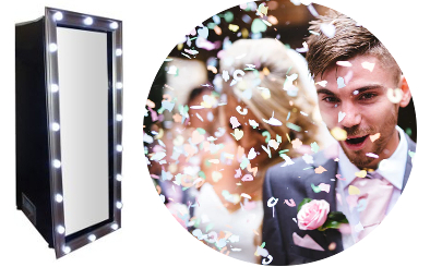 Selfie Mirror hire in Berkshire