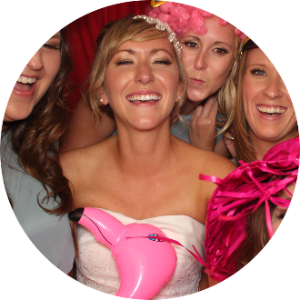 Photo booth hire for your wedding!
